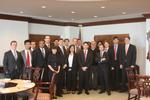 Program in New York students visit Citigroup.