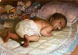 Small Child (Infant) by Vincent Desiderio - 2009.