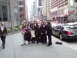 Hamilton's Model UN delegation in New York City.