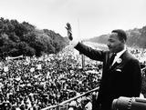 "The Rev. Martin Luther King Jr. delivers his ""I Have a Dream "" speech in Washington, D.C. in August, 1963."