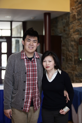 Jimmy Nguyen '14 and mother