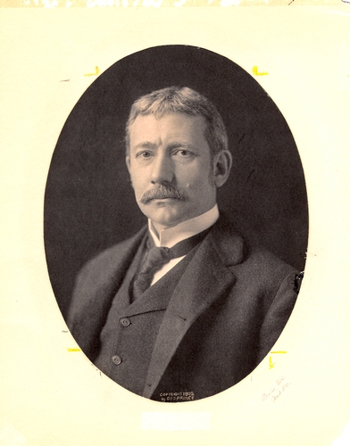 Portrait of Elihu Root, 1902, when he was Theodore Roosevelt's Secretary of War