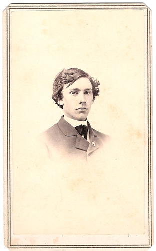 Elihu Root as a student at Hamilton College