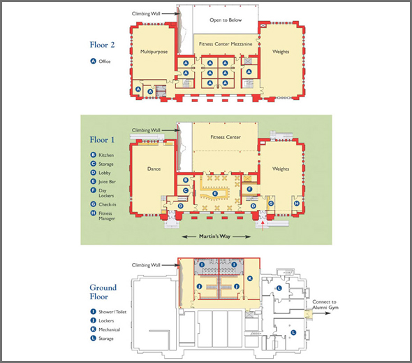 Fitness Center Floorplans House Plans Home Designs