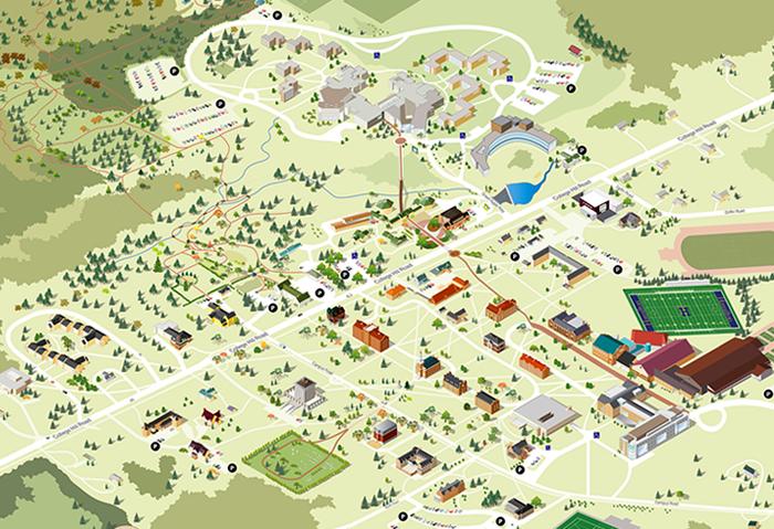Hamilton College Campus Map 2015   Schedule   Hamilton College