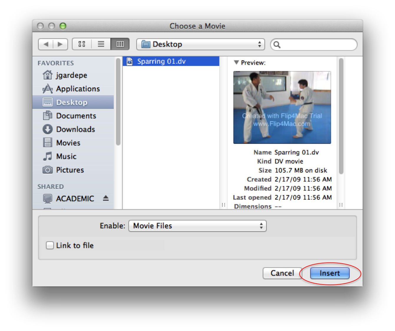 Adjusting Videos In The Presentation