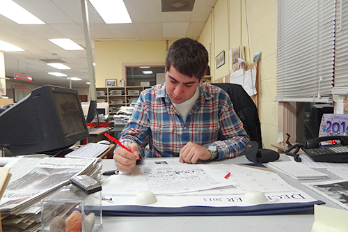 Jack McManus '13 landed a job as arts editor at a Vermont newspaper.