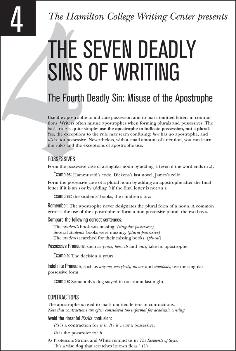 Dr. Faustus and Seven Sins Essay