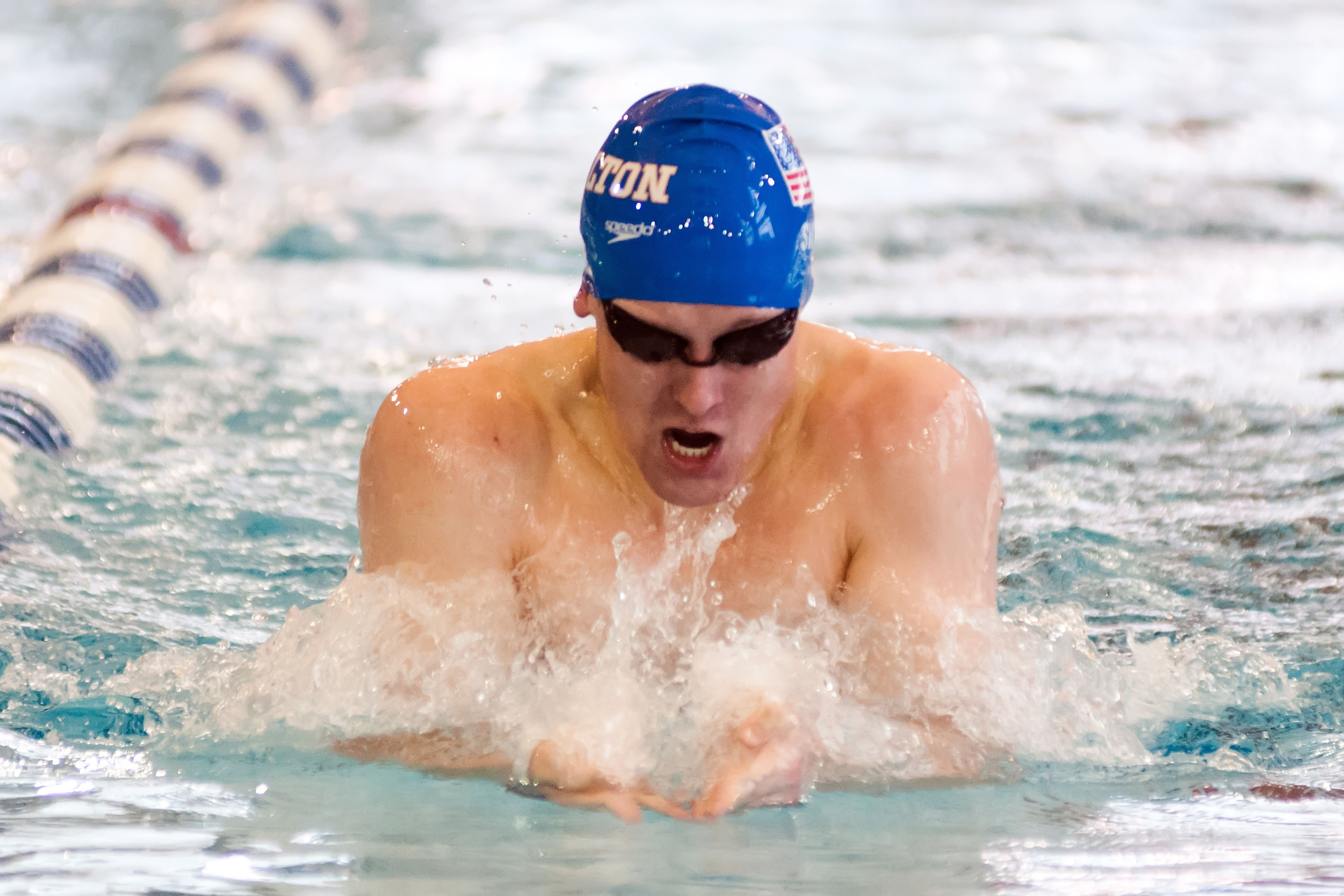 Men 39 S Swimmer Honored With Nescac Weekly Award Hamilton College