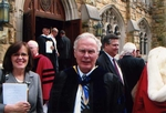 Barclay Ward '59 at Sewanee Inauguration