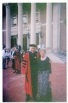 Dean Alfange, Jr. '50 and his wife Barbara at the Williams Inauguration